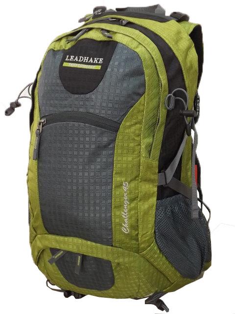 Рюкзак туристический  Leadhake H3211  (45 литров) салатовый
