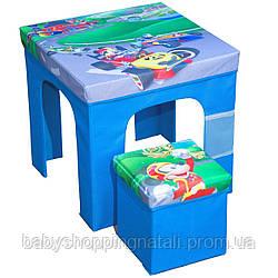 Раскладной комплект мебели Микки и веселые гонки Disney (Arditex), WD12134
