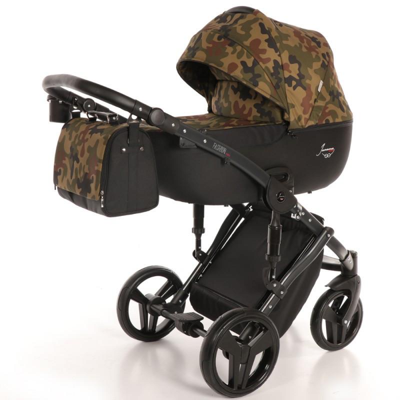 Детская коляска 2 в 1 Tako Junama Fashion Pro Army Хаки (13-JFPAr), фото 1