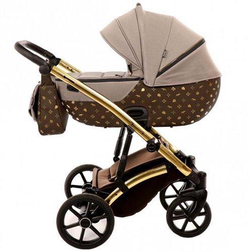 Детская коляска 2 в 1 Tako Laret Imperial 02 Коричневая (13-LI02)