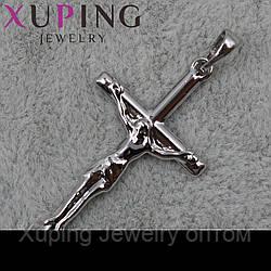 Крестик Xuping медицинское золото Silver - 1020505144