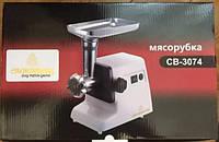Мясорубка CB 3074 Crownberg, Электрическая мясорубка, Электромясорубка с реверсом, Бытовая мясорубка