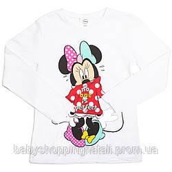 Реглан Минни Маус Disney (Arditex), WD11636_white, 4 года (104-110 см), 4 года (104 см)