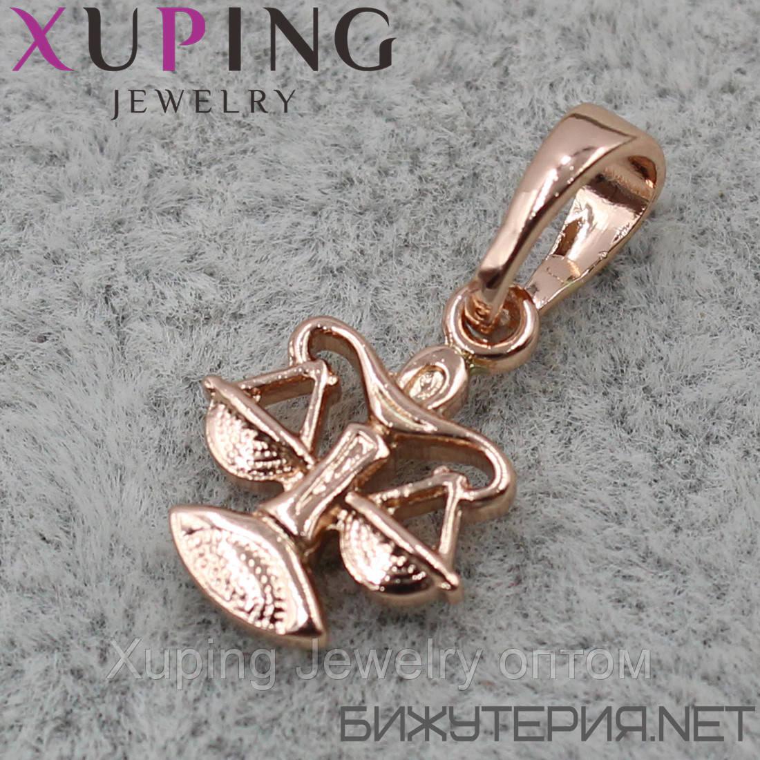 Знак Зодиака Весы Xuping медицинское золото 18K Gold - 1021168802