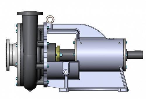 Насос СД 100/40, СД100/40, ФГ 115/38 а б для сточных вод, фото 2