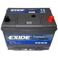 Аккумулятор (АКБ) 75Ah-12v Exide PREMIUM (267х172х220), R, EN630