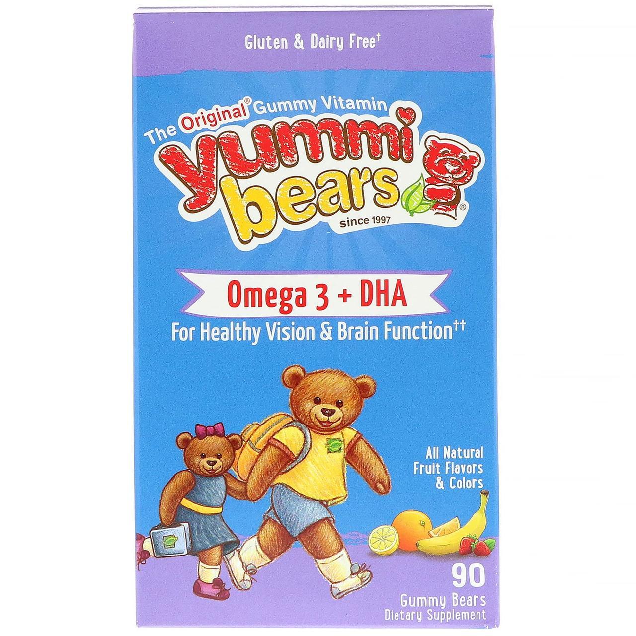 Рыбий жир для детей, Омега-3, Omega-3 + DHA, Hero Nutritional, 90шт