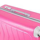 Модный пластиковый чемодан на колесиках Wanger, фото 7