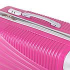 Фиолетовый пластиковый чемодан на колесиках  Purple, фото 8