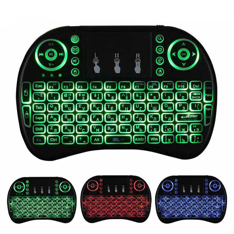 Беспроводная клавиатура с встроенным тачпадом LED-подсветка