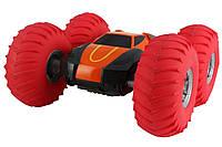 Перевёртыш на радиоуправлении YinRun Speed Cyclone с надувными колесами (на бат., оранжевый), фото 1