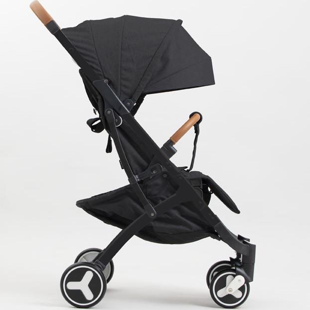 Детская прогулочная коляска YoyaPlus 3 Черная