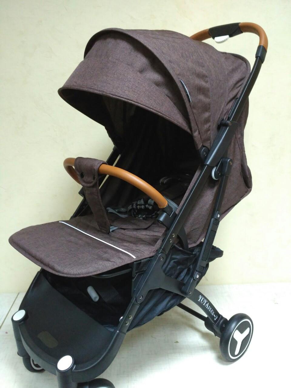 Детская прогулочная коляска YoyaPlus 3 Кофе (959760275), фото 1