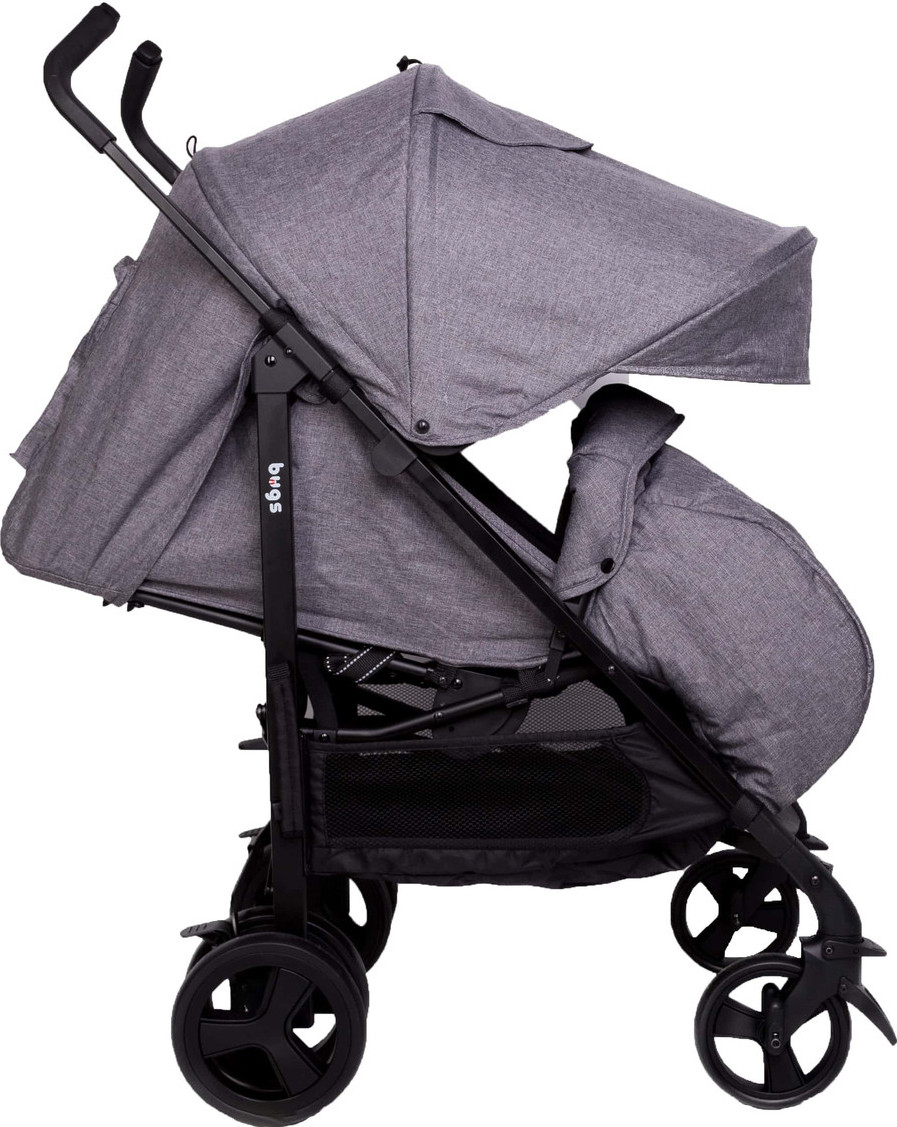 Прогулочная коляска трансформер Bugs Witty Серый (6907112010313/BZ-240870)