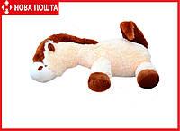 Игрушка Лошадь Алина 75 см персиковая