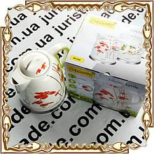 Чайник електричний Maestro, кераміка, 1,5 л.(диск.), 1200 Вт. № MR-066