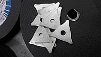 Шайба треугольная  облуженная (20 шт.)