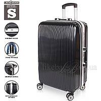 Пластиковый чемодан на колесиках в оригинале, маленький., фото 1