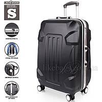 Фирменный пластиковый чемодан на колесиках, фото 1