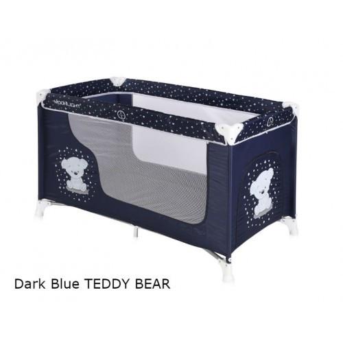 Манеж Bertoni MOONLIGHT 1L (dark blue teddy bear) (20834)