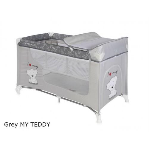 Манеж Bertoni MOONLIGHT 2L (grey my teddy) (20838)