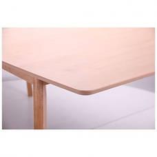 Стол обеденный раздвижной Чедер бук беленый, фото 2