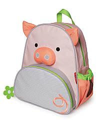 Детский рюкзак Skip Hop Zoo Pack (Zoo Little Kid Backpack) - Pig (Свинка, Поросенок), 3+