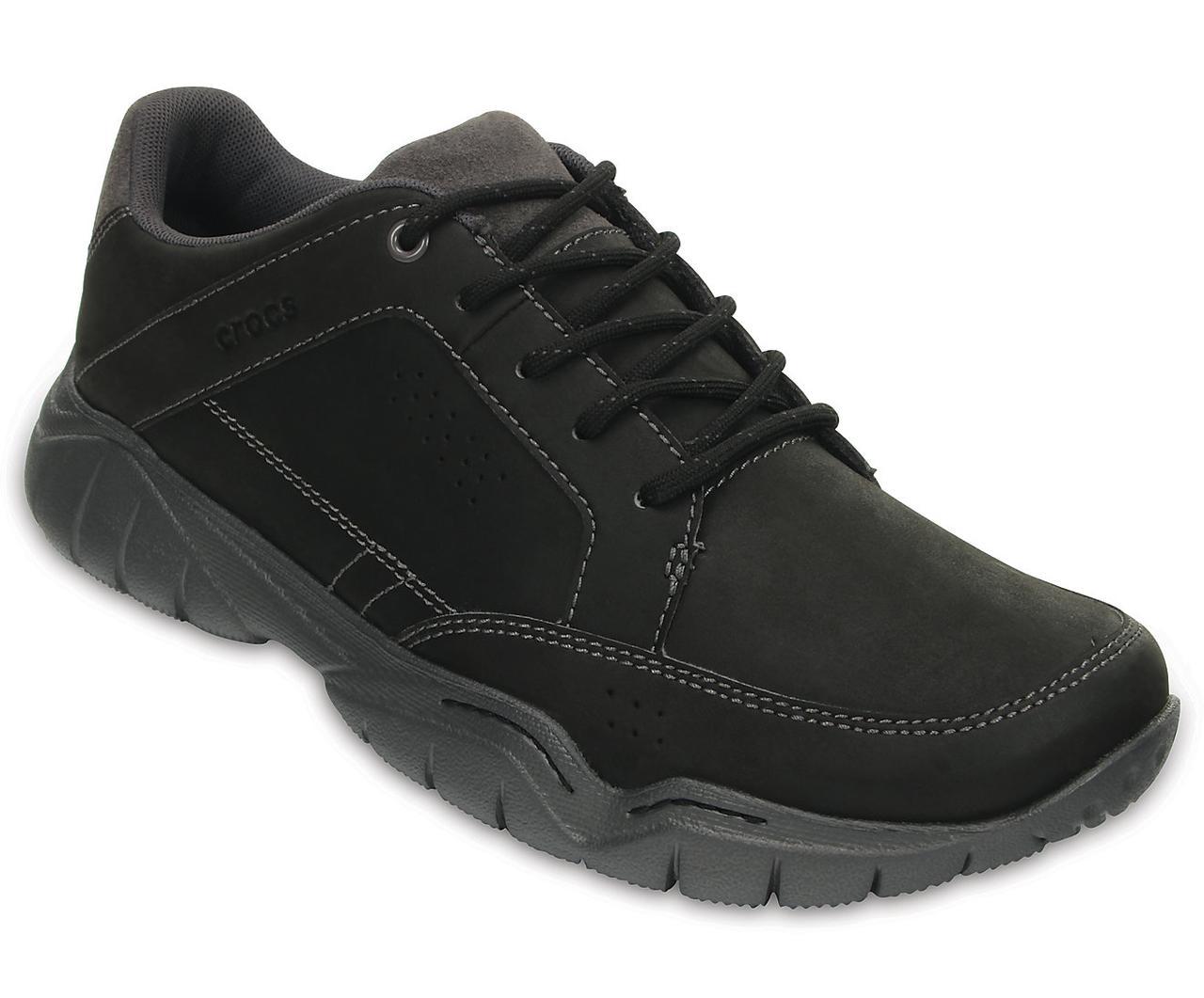 Туфли мужские деми Кроксы Свифтвотер Хайкер оригинал / Crocs Mens Swiftwater Hiker Shoe (203392), Черные