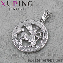 Знак Зодиака Стрелец Xuping медицинское золото Silver - 1021936834