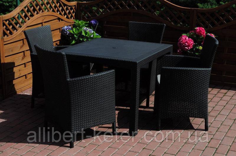 Набор садовой мебели Montana Iowa Melody Quartet Garden Set из искусственного ротанга