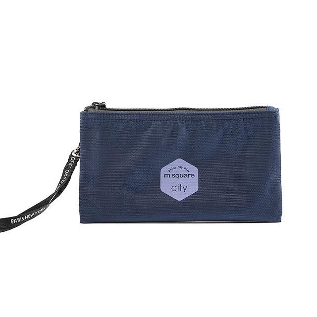 Тревел гаманець M Square синій