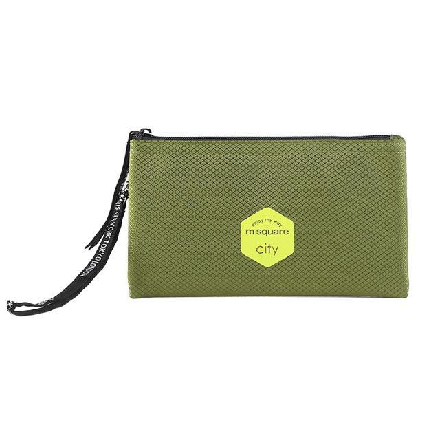 Тревел гаманець M Square зелений