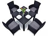 Набор садовой мебели Montana Iowa Melody Quartet Garden Set из искусственного ротанга, фото 4