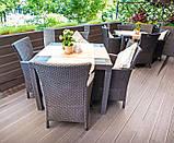 Набор садовой мебели Montana Iowa Melody Quartet Garden Set из искусственного ротанга, фото 9