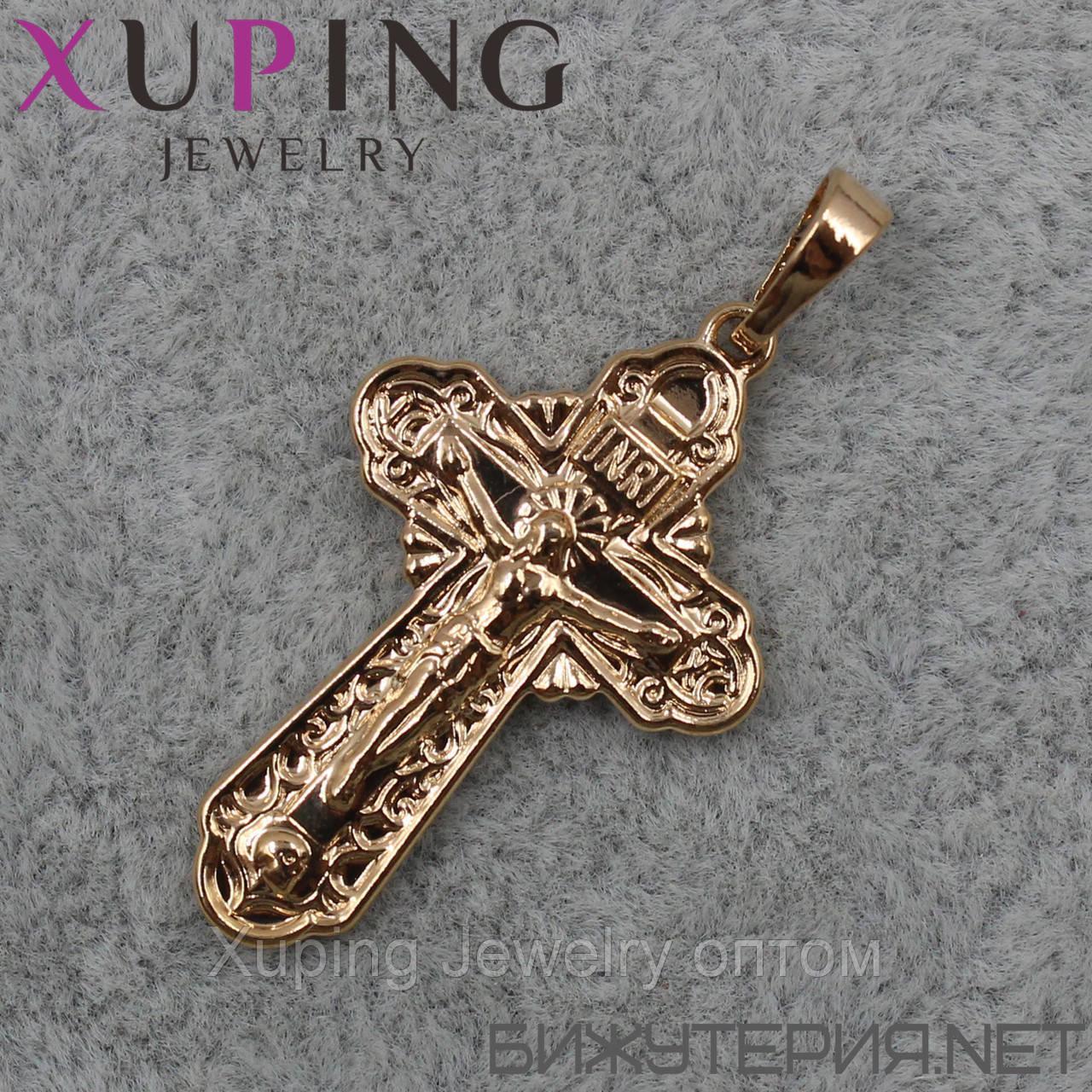 Крестик Xuping медицинское золото 18K Gold - 1020454530