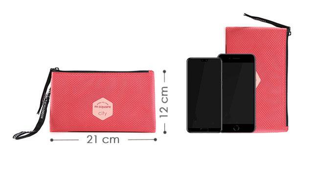 Розміри тревел гаманця M Square