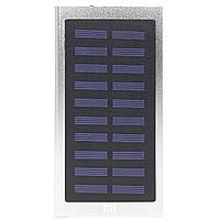 ☜Power bank Xiaomi 20000 mAh Silver внешний аккумулятор для цифровой техники с солнечной панелью