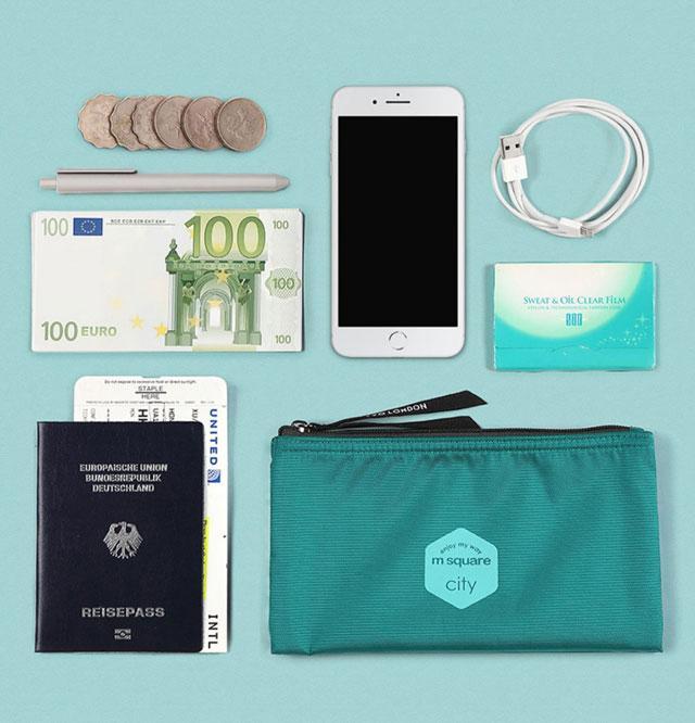 Тревел гаманець M Square