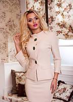 Женский деловой юбочный костюм