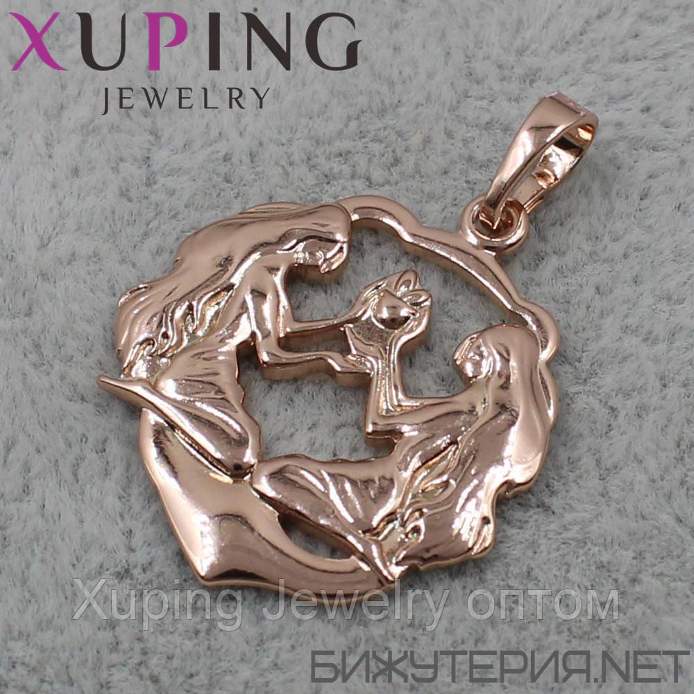 Знак Зодиака Близнецы Xuping медицинское золото 18K Gold - 1021908494