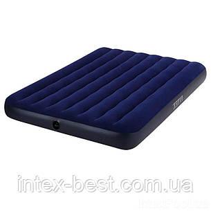 Надувные матрасы Intex Classic Downy Airbeds 68758 (191х137х22см), фото 2