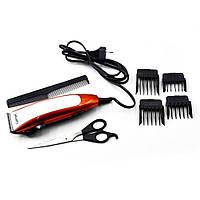 Hair Trimmer GM 1010 Gemei, Машинка для стрижки, Аккумуляторная машинка для стрижки с насадками