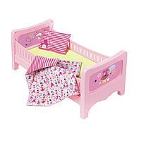 Кроватка для куклы BABY BORN - СЛАДКИЕ СНЫ (с постельным набором), 824399