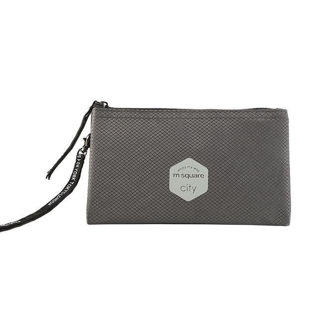 Тревел гаманець M Square сірий
