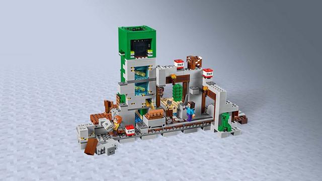 """Конструктор Bela (Lari) 11363 Minecraft """"Шахта крипера"""""""