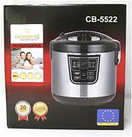 Multicooker CB 5522 Crownberg, Мультиварка бытовая, Мультиварка 5 литров чаша, Пароварка мультиварка