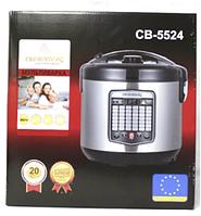 Multicooker CB 5524 Crownberg, Мультиварка с пароваркой, Мультиварка с 45 программами, Антипригарная чаша