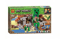 "Конструктор Bela (Lari) 11363 Minecraft ""Шахта крипера"", 852 детали. Аналог Лего Майнкрафт 21155"