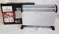 Heater CH 2000 Convector Crownberg, Конвектор бытовой, Конвекторный электрический обогреватель, Камин