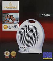Heater CB 428 Crownberb, Тепловентилятор бытовой, Дуйка, Теплодуйка, Тепловентилятор, Напольная дуйка